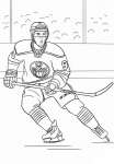 Edmonton Oilers coloring page