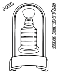 Stanley Cup coloring page
