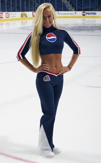 Pepsi Hockey Girl