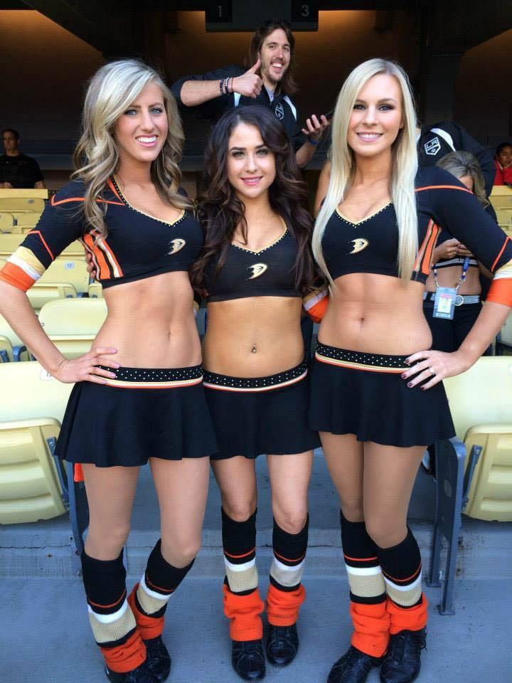 Anaheim Ducks Puck Bunnies