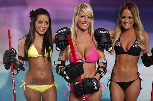 bikini hockey league