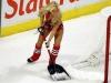 hockey babe shovelling