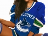 hot hockey girl Vancouver Canucks
