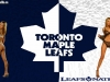 Toronto Maple Leaf babe wallpaper 1680 x 1024