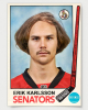 Eriik Karlsson retro hockey card