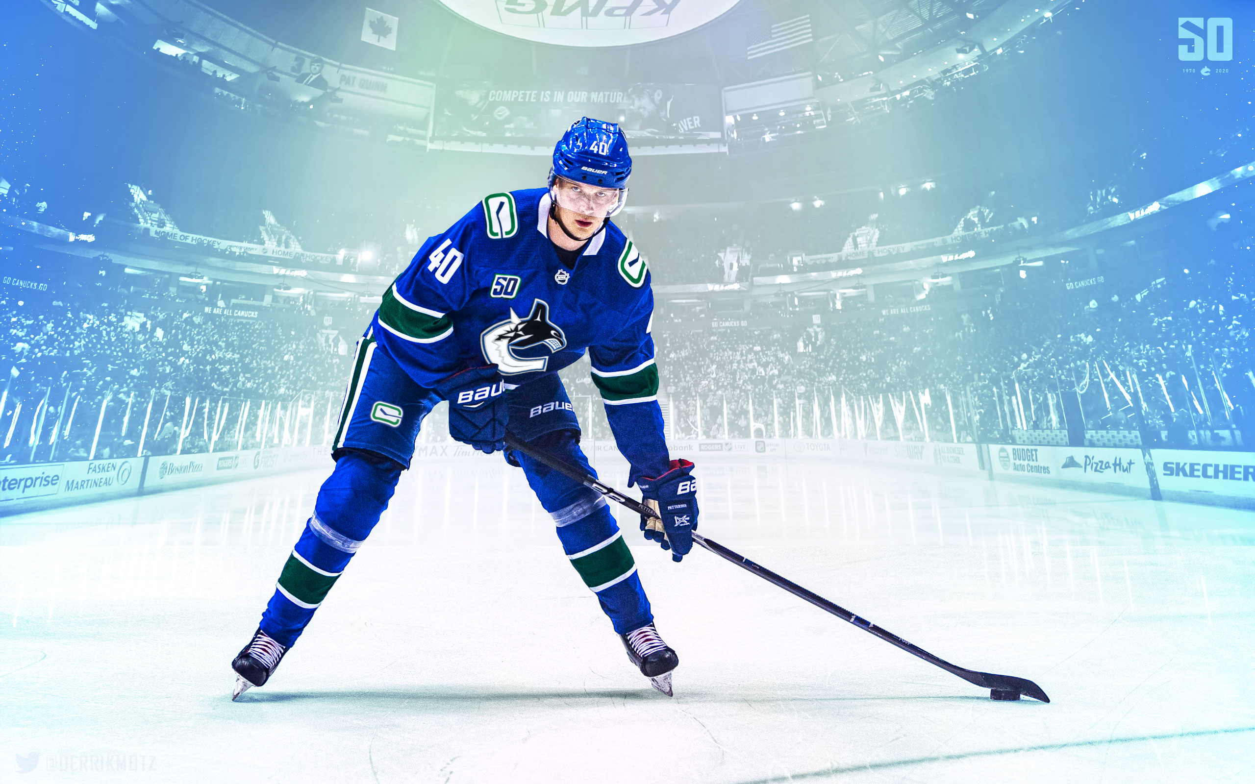Elias Pettersson wallpaper