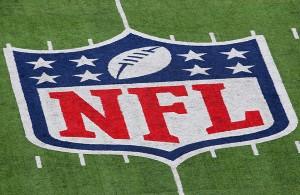NFL Logo Grass