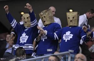 Toronto Maple Leafs Fans paper bag