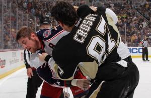 Sidney Crosby Bradon Dubinsky fight