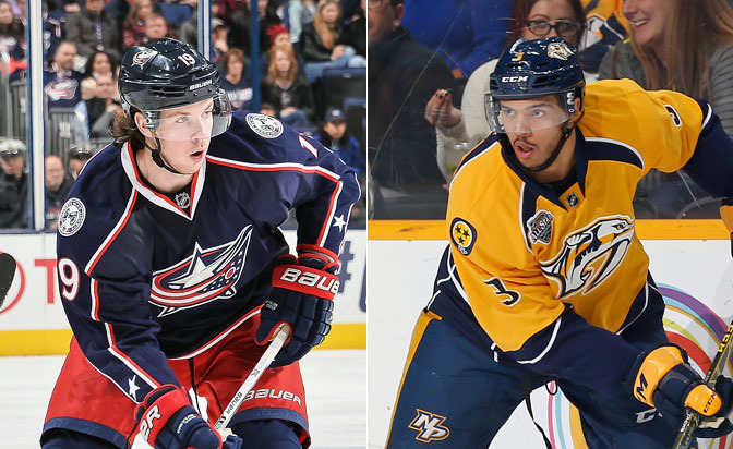 Ryan Johansen traded for Seth Jones