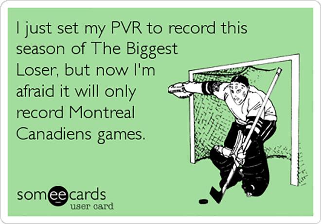 Montreal Canadiens joke