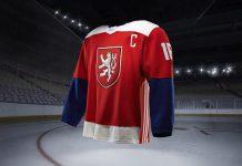 Team Czech Republic Hockey Jersey