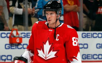 Sidney Crosby Team Canada