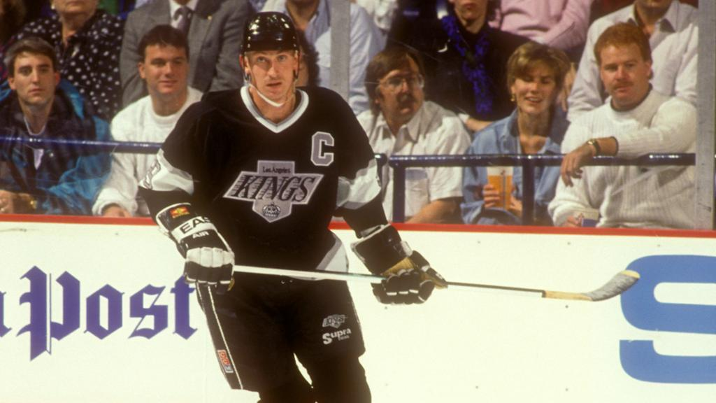 wayne gretzky trade Hockey hall of famer luc robitaille talks about playing with his idol, wayne gretzky, in los angeles.