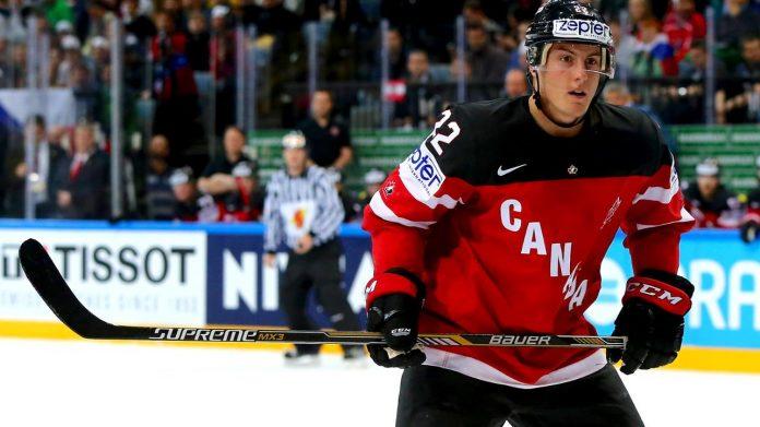 Tyson Barrie Team Canada