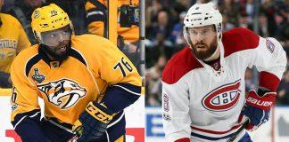 P.K. Subban Shea Weber June 29 NHL History