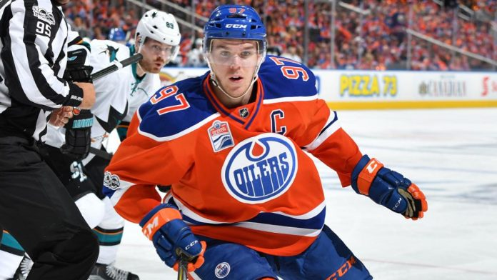 Connor McDavid point predictions