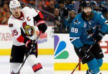 Erik Karlsson Brent Burns Fantasy hockey defenceman point predictions 2017-2018