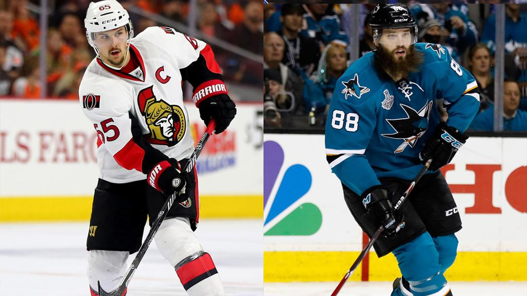 Image result for erik karlsson brent burns
