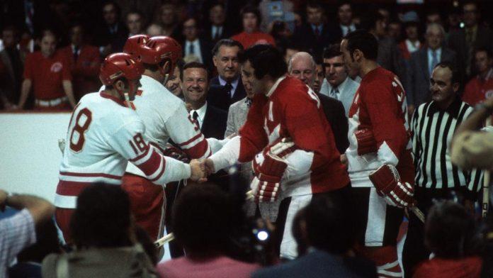Team Canada Soviet Union September 2 NHL History