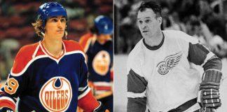 Wayne Gretzky Gordie Howe November 17 NHL History