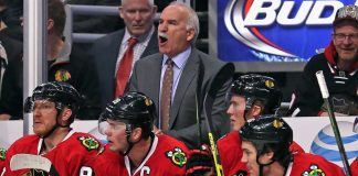 Joel Quenneville January 14 NHL history