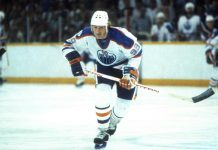 Wayne Gretzky 51 game point streak ends