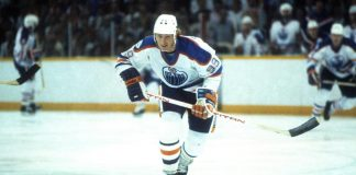 Wayne Gretzky 51 game point streak ends