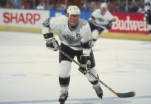 Wayne Gretzky LA Kings 1989 February 4 NHL History
