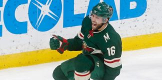 Jason Zucker contract