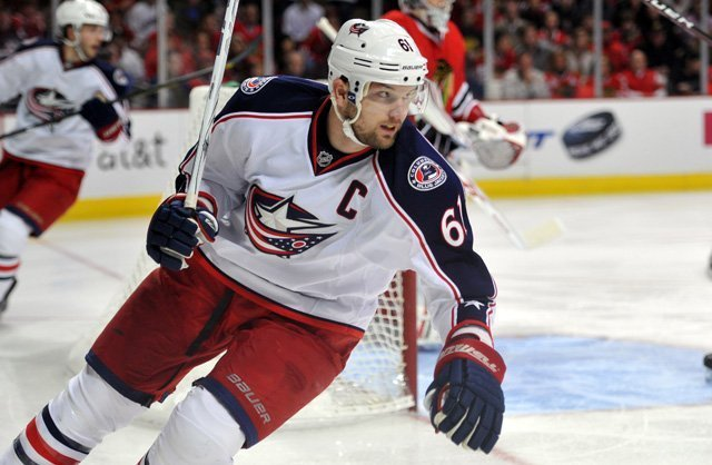 Rick Nash retires from the NHL.