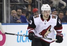 Conor Garland Arizona Coyotes