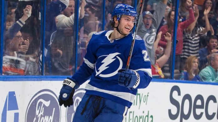 Brayden Point has signed a 3-year extension with the Tampa Bay Lightning