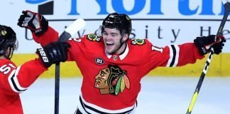Alex DeBrincat signs contract extension