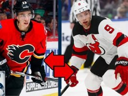 Would the Calgary Flames trade Johnny Gaudreau for Taylor Hall?