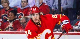 Will the Calgary Flames trade Travis Hamonic to the Toronto Maple Leafs for Tyson Barrie?
