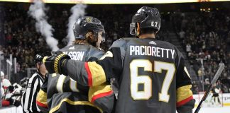 Vegas Golden Knights will be looking to trade for a defenceman
