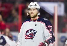 The Columbus Blue Jackets likely to trade Josh Anderson