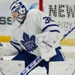 The Toronto Maple Leafs are looking to make a trade for a backup goalie