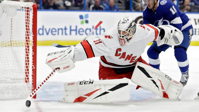 James Reimer could be traded at the NHL trade deadline 2021
