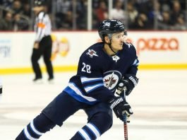 Jack Roslovic hopes to be traded by the Winnipeg Jets