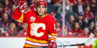 NHL trade rumors have Johnny Gaudreau not re-signing with the Calgary Flames and ending up in Philadelphia.