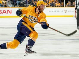 The Nashville Predators have struggled this year and will likely be sellers at the NHL trade Deadline. Mattias Ekholm is a player that could be traded.
