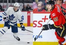 Could a Sam Bennett and Travis Dermott trade be in the works? If it is, the Leafs will have to work some magic with the salary cap.
