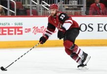 Teams are beginning to call the Arizona Coyotes on the availability of Alex Gologoski. He will likely be traded at the NHL trade deadline.