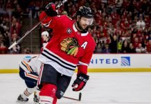 Brent Seabrook, 35, has retired from the NHL due to injury.