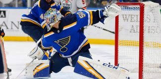 Jordan Binnington signed a six-year, $36 million contract extension with the St. Louis Blues.