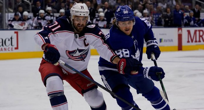 The Toronto Maple Leafs and New York Islanders have interest in Nick Foligno. Will the Columbus Blue Jackets trade him?