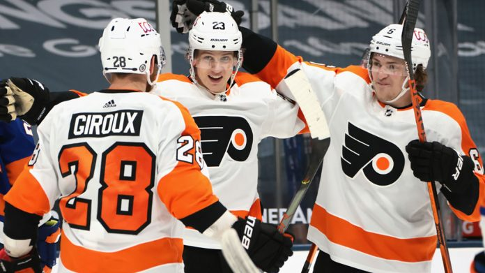 The Philadelphia Flyers are looking to be buyers at the NHL trade deadline as they make a push for the playoffs.
