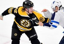 If the Boston Bruins want to land David Savard or Mattias Ekholm, they might have to part with Trent Frederic.